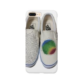 脳波デザイン Smartphone cases