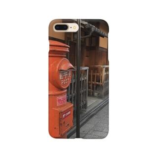 祇園のポスト Smartphone cases