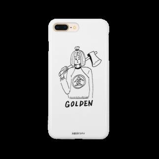 カラシソエルのGOLDEN Smartphone cases