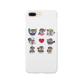 職業図鑑 Smartphone cases