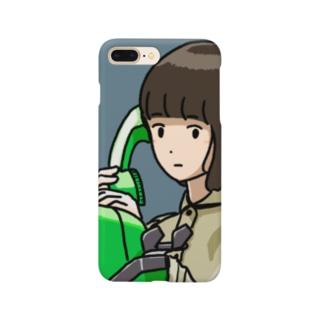 「あたしはここよ」 Smartphone cases