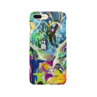 誕生の樹 Smartphone cases