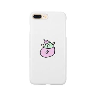 ふやふやのピンク Smartphone cases