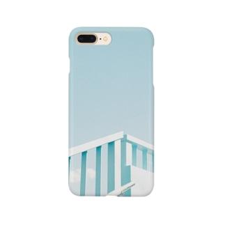 青に光 Smartphone cases
