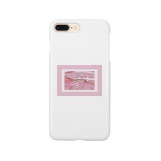 SWEET ROOM pink satin  Smartphone cases
