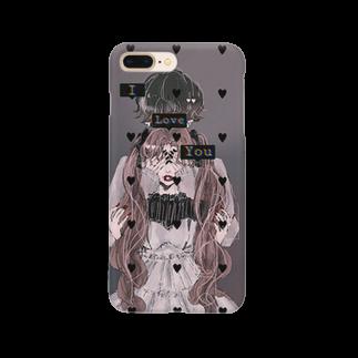 Ran🦋のあいらぶゆー。 Smartphone cases