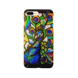 クジャク Smartphone cases