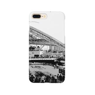 阪神競馬場 パドック Smartphone cases