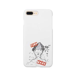 ターンマークおじさん Smartphone cases