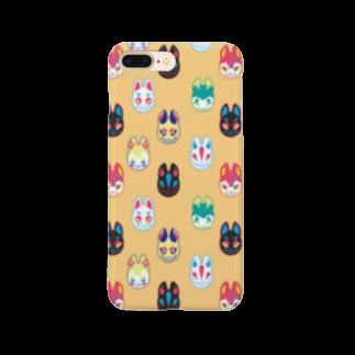 Kanzarkobo 🍫🍌カンツァーの狐面集会 Smartphone cases