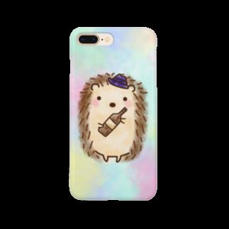 Amino3ののんだくれハリネズミ Smartphone cases