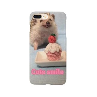 Cute smile雫 Smartphone cases