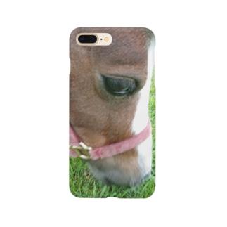 ミニチュアホース Smartphone cases
