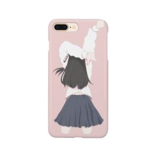 肩が痛い女の子 Smartphone cases