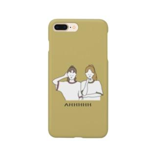 AHHHHH (yellow) Smartphone cases