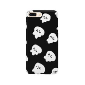 おばけウォレットホンケース Smartphone cases