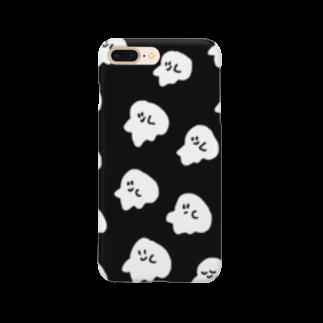 イソ(ベ)マスヲのおばけウォレットホンケース Smartphone cases