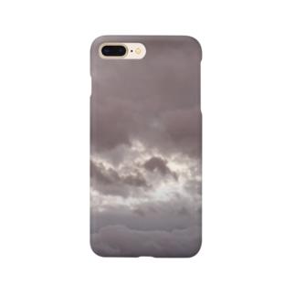 台風 静けさ Smartphone cases