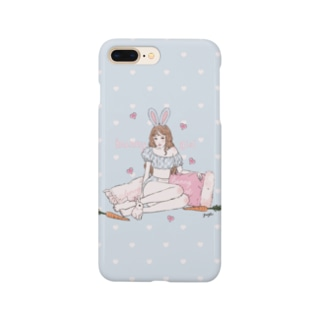 bunny girl🥕(sax) Smartphone cases