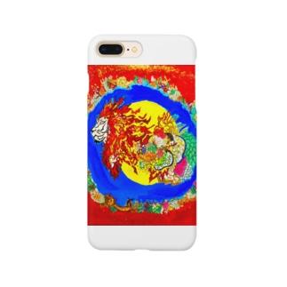 獅子神 Smartphone cases
