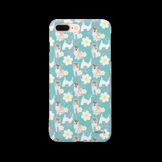 陽向の柴犬 Smartphone cases