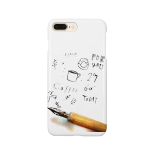 カリグラフィー Smartphone cases