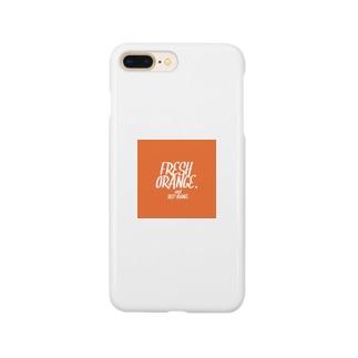 fresh orange Smartphone Case