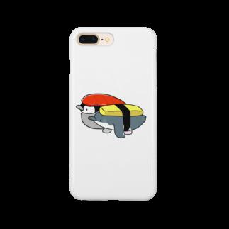 ちょこぺんのへいお待ち!お寿司なペンギンセット Smartphone cases