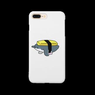 ちょこぺんのお寿司なペンギン(たまご) Smartphone cases