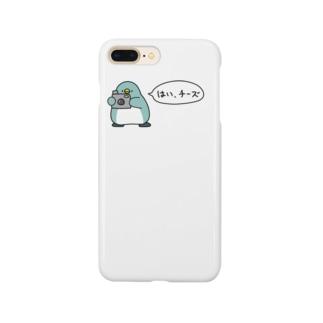 ペンギンカメラマン Smartphone cases