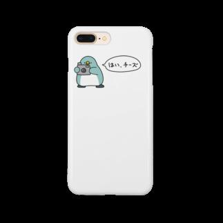 ちょこぺんのペンギンカメラマン Smartphone cases