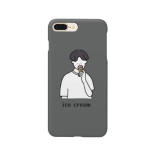 ice cream(ivy gray) Smartphone cases