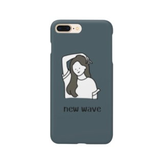new wave(river blue) Smartphone cases