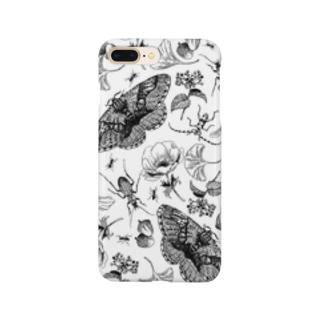 イボタガスマホ02 Smartphone cases