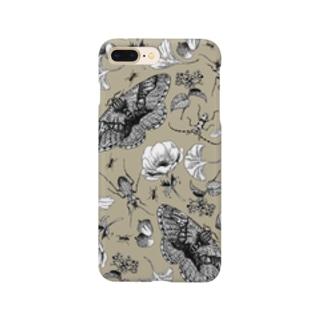 イボタガスマホ04 Smartphone cases