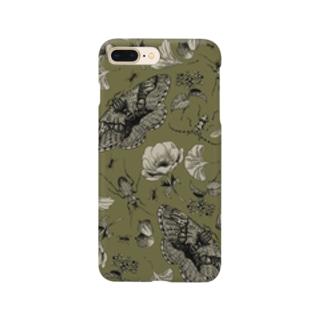 イボタガスマホ05 Smartphone cases
