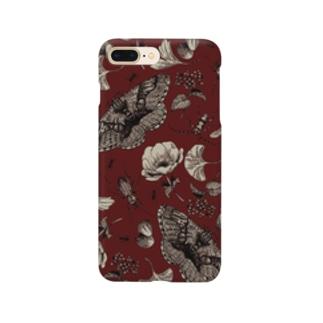 イボタガスマホ07 Smartphone cases
