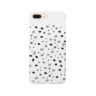 ねこ総柄 Smartphone cases