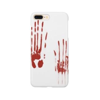 血塗られた手形シリーズ Smartphone cases