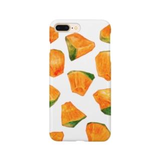 かぼちゃ(しろ) Smartphone cases