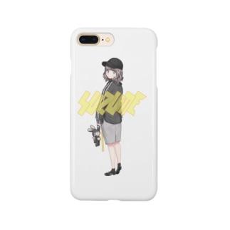 エモすずめちゃん Smartphone cases