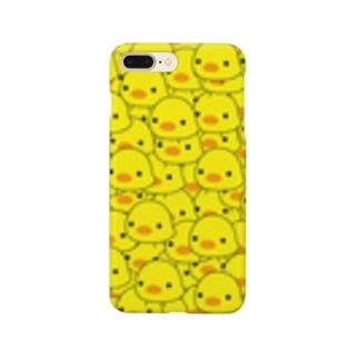 ひよこみっちり Smartphone cases