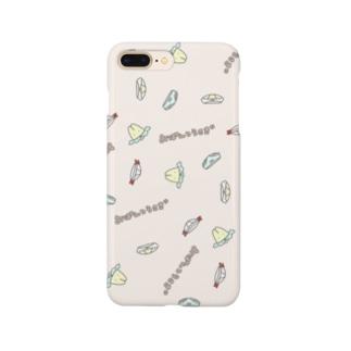 おぱんつうさぎのオリジナル柄 Smartphone cases