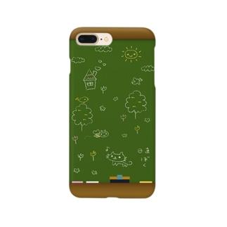 こくばん Smartphone cases