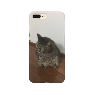 うちのぬっこ Smartphone cases