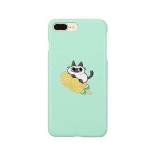 レモンアイスねこ Smartphone cases