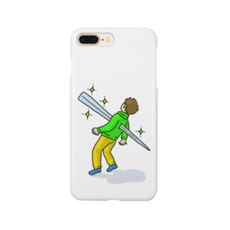 キラキラと輝くトゲが私を貫く Smartphone cases