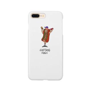 HOT DOG MAN Smartphone cases
