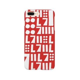 ハズレ(textile) スマートフォンケース