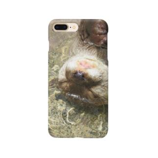 ぷかぷかカワウソちゃん Smartphone cases